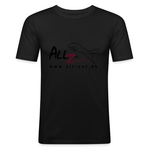 All Zet Logo - Herre Slim Fit T-Shirt