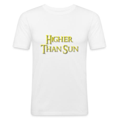 Higher Than Sun - Men's Slim Fit T-Shirt