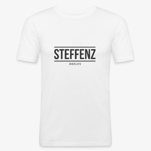 Black on Black - Männer Slim Fit T-Shirt