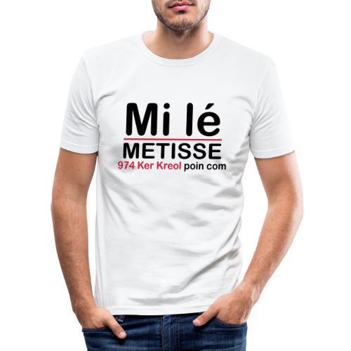 Mi lé METISSE - T-shirt près du corps Homme