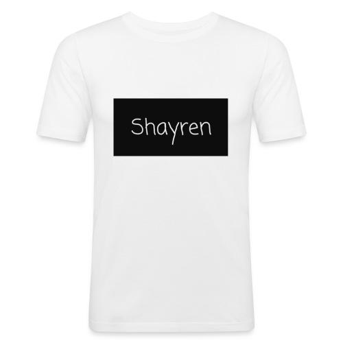 Shayren t-shirt - Mannen slim fit T-shirt