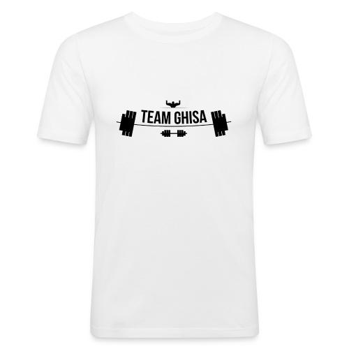 TEAMGHISALOGO - Maglietta aderente da uomo