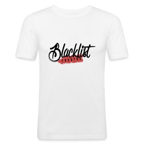 Blacklist Records - Casquette (Logo Noir) - T-shirt près du corps Homme