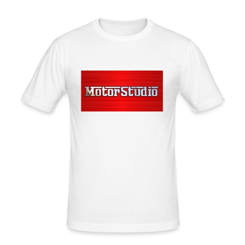 Motor Studio Design 1 - Men's Slim Fit T-Shirt