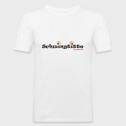 Schwingtitte - Männer Slim Fit T-Shirt