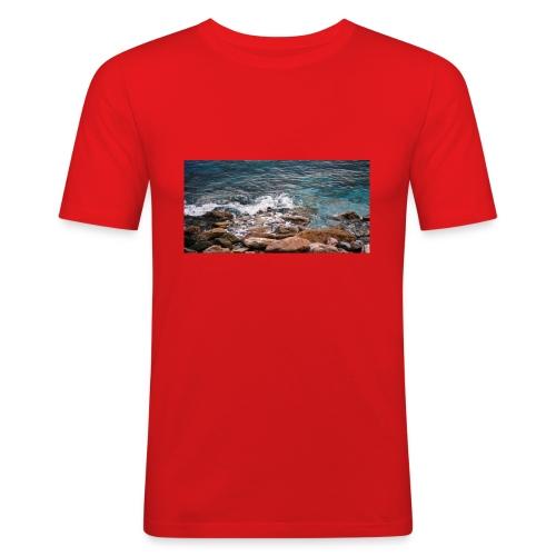 Handy Hülle Meer - Männer Slim Fit T-Shirt