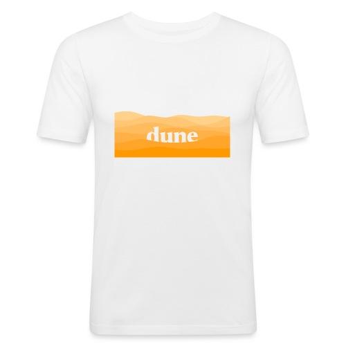 DUNE Dune del deserto minimal onde futuristiche - Maglietta aderente da uomo