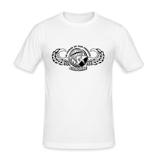 HAF tshirt back2015 - Men's Slim Fit T-Shirt
