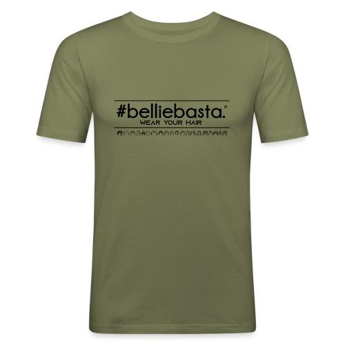 belliebasta - Maglietta aderente da uomo