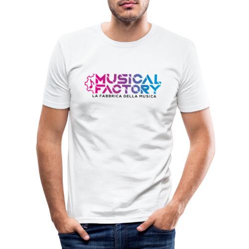 Musical Factory Sign - Maglietta aderente da uomo