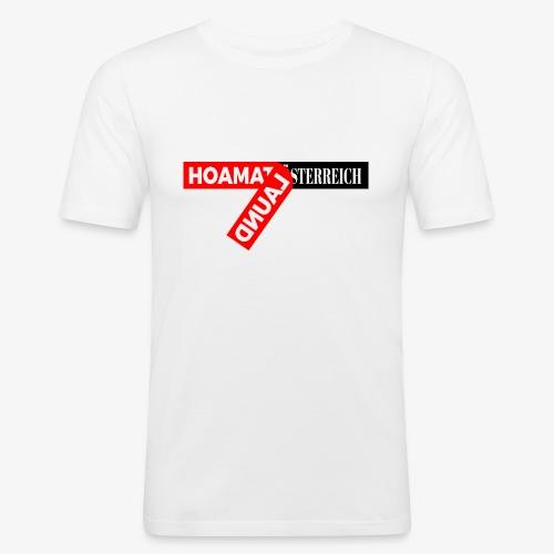hoamatlaund tagloose und Österreich - Männer Slim Fit T-Shirt