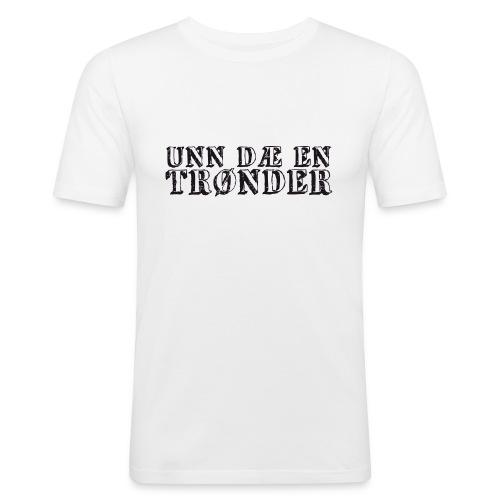 unndae - Slim Fit T-skjorte for menn