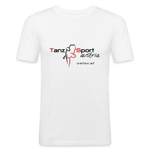 Logo OTSV V1 Internet gif - Männer Slim Fit T-Shirt