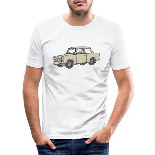 Trabi, Trabant (papyrus) - Männer Slim Fit T-Shirt