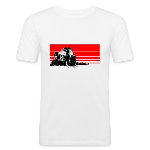 Sunset tractor - Maglietta aderente da uomo