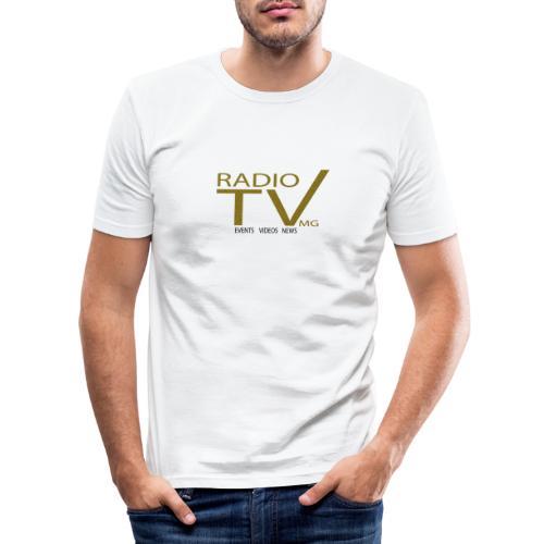 radiotvmgtr - Männer Slim Fit T-Shirt