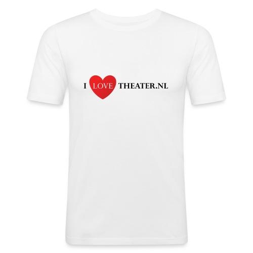 tas - Mannen slim fit T-shirt
