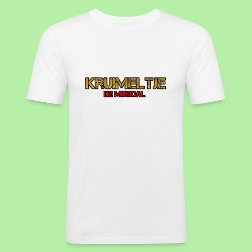 Hoesje I-phone 6/6s Kruimeltje de Musical - Mannen slim fit T-shirt