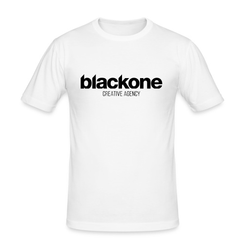 Camiseta negra blackone - Camiseta ajustada hombre