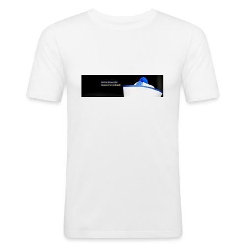 Geenpeil Mok - Mannen slim fit T-shirt