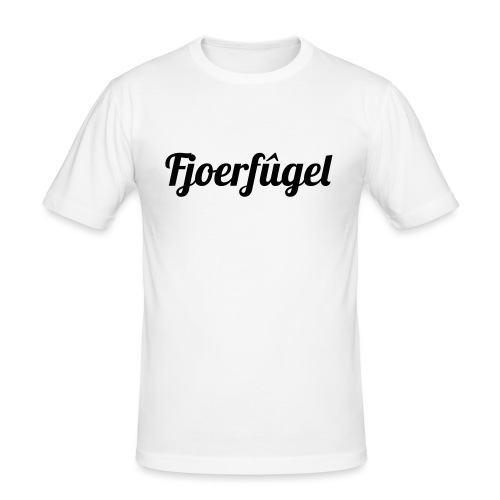fjoerfugel - Mannen slim fit T-shirt