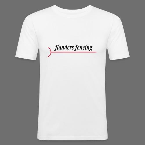 Flanders Fencing - Mannen slim fit T-shirt