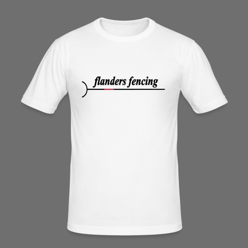 Flanders Fencing - Mannen slim fit T-shirt