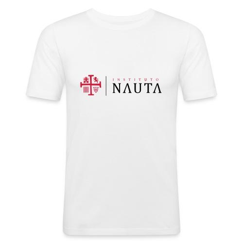 Logotipo Instituto NAUTA - Camiseta ajustada hombre