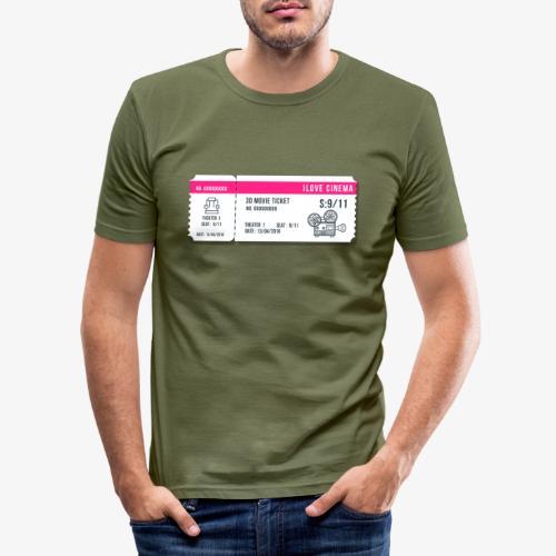 Cinema 2 - Camiseta ajustada hombre