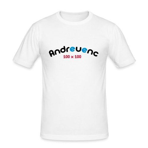 Andreuenc - Camiseta ajustada hombre