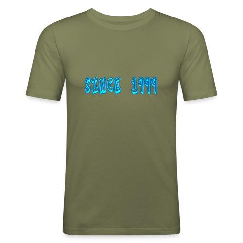 Since 1999 - Miesten tyköistuva t-paita