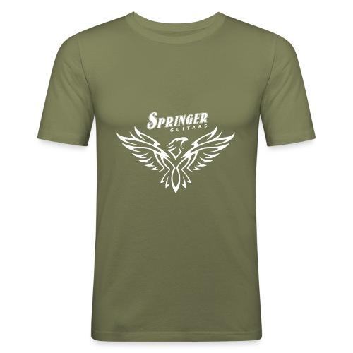 Springer FireHawk white - T-shirt près du corps Homme