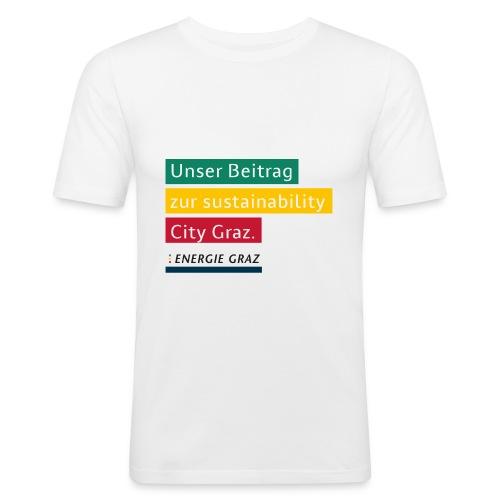 Energie Graz Vision - Männer Slim Fit T-Shirt