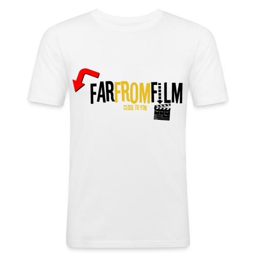 FarFromFilm FB 1 blk - Men's Slim Fit T-Shirt
