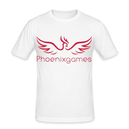 Phoenixgames - Männer Slim Fit T-Shirt