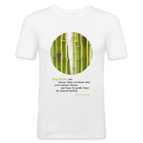 Steinhauser Das Geheimnis der Junggebliebenen - Männer Slim Fit T-Shirt