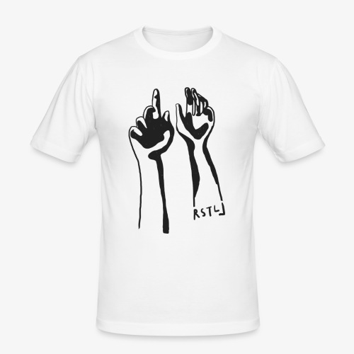 HANDS UP - T-shirt près du corps Homme