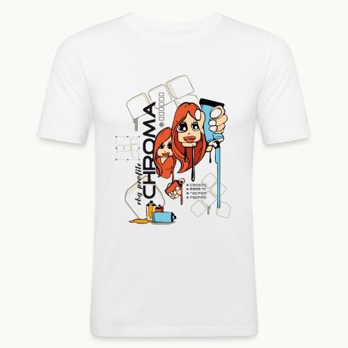 Chroma - T-shirt près du corps Homme