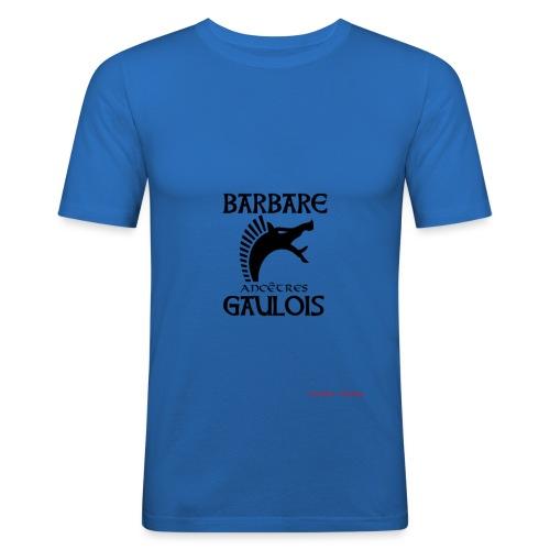 designBarAnc-GauloisCARNY - T-shirt près du corps Homme
