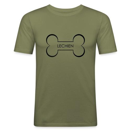LeChien - Maglietta aderente da uomo