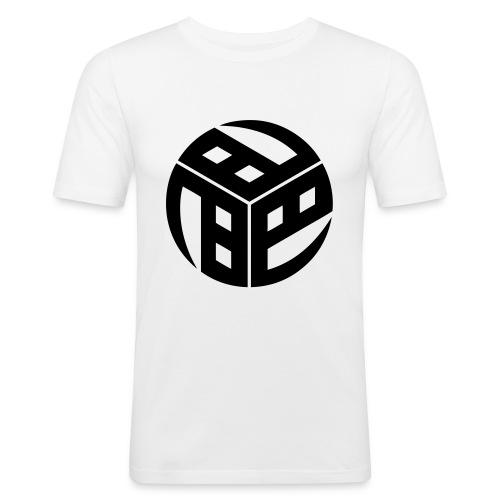 Mitsudomoe Symbol (stylisiert) - Männer Slim Fit T-Shirt