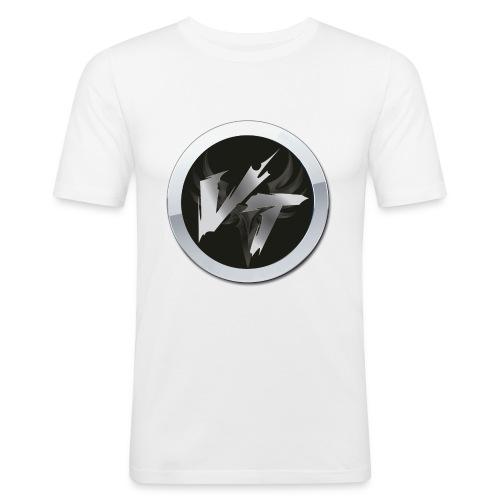 logo-cvt - Maglietta aderente da uomo