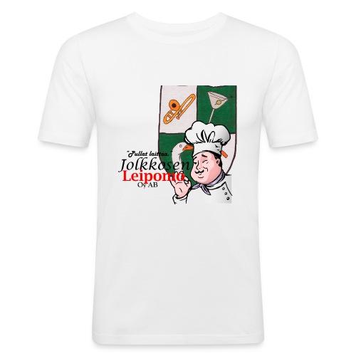 Leipomo - Miesten tyköistuva t-paita