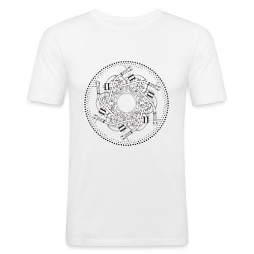 mandala turntable 1210 - Maglietta aderente da uomo