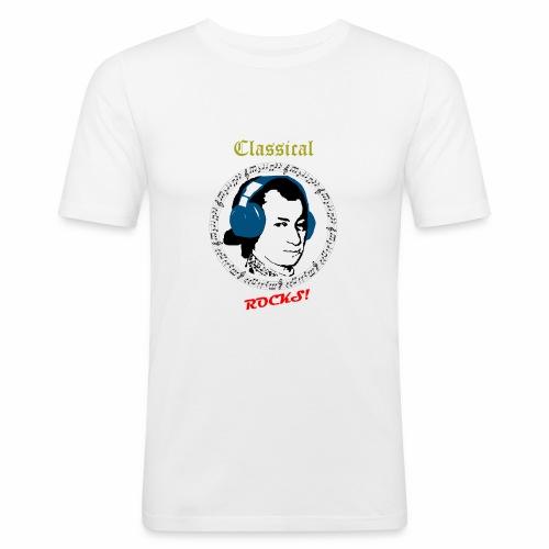 Classical Rocks! - Men's Slim Fit T-Shirt