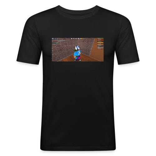 panda time - Men's Slim Fit T-Shirt