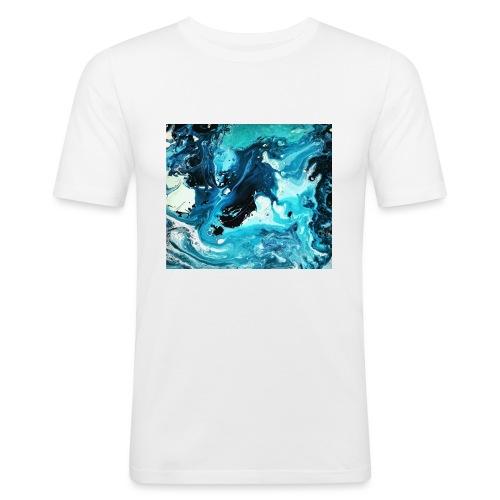 Ocean - Männer Slim Fit T-Shirt
