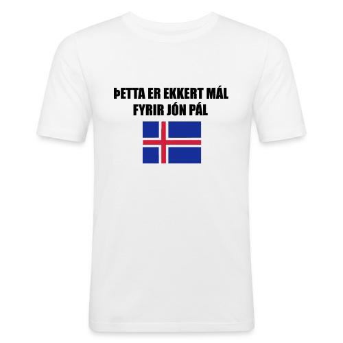 Jón Páll Tee - Slim Fit T-shirt herr