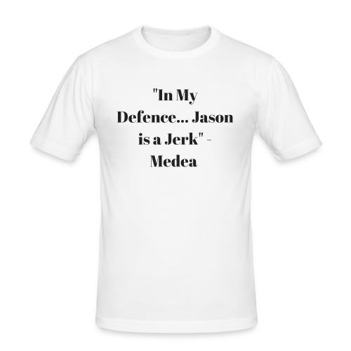 Jason is a Jerk - Men's Slim Fit T-Shirt