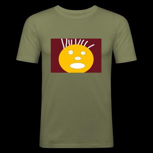 Original RADIO - Miesten tyköistuva t-paita